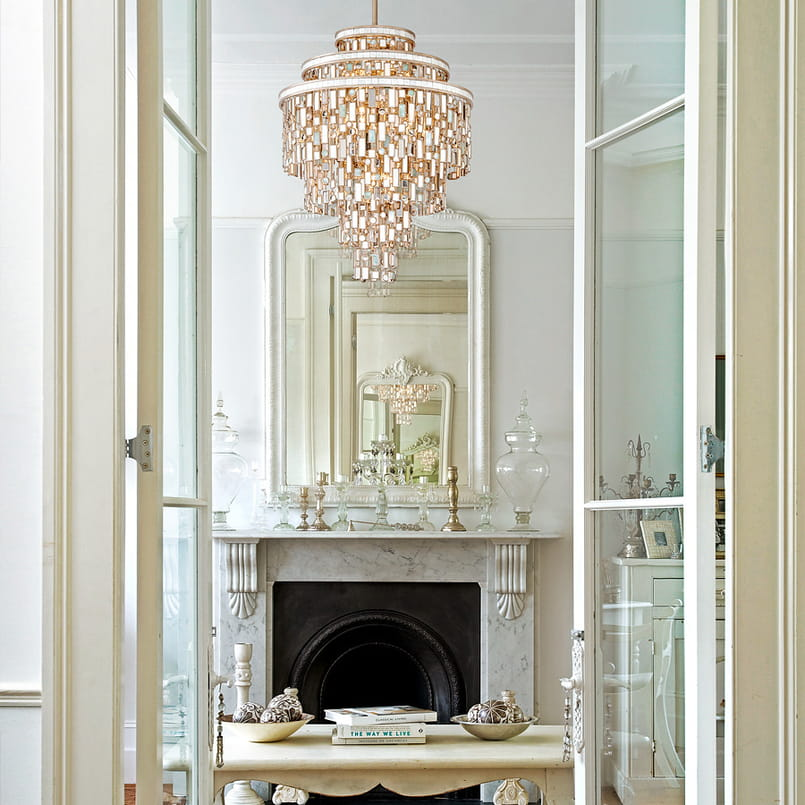 Ornate Elegance Layla Grayce, Large Wall Mirrors For Above Fireplace